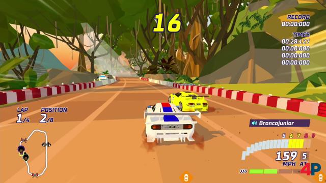 Screenshot - Hotshot Racing (PS4)