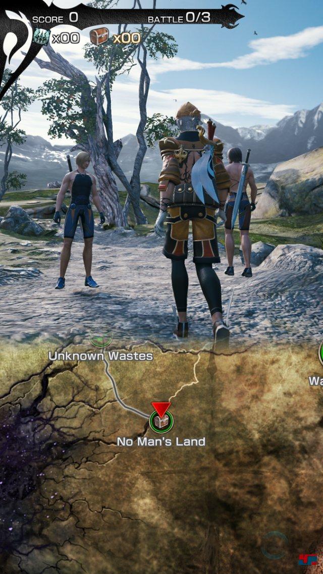 Screenshot - Mobius Final Fantasy (Android)