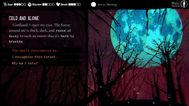 Screenshot - Werewolf: The Apocalypse - Heart of the Forest (Switch)