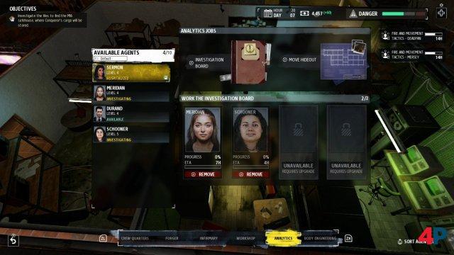 Screenshot - Phantom Doctrine (Switch)