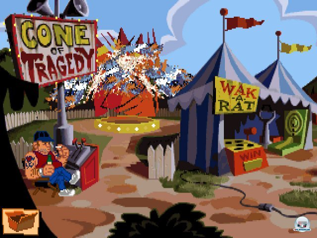 Screenshot - Sam & Max Hit the Road (PC) 92431627