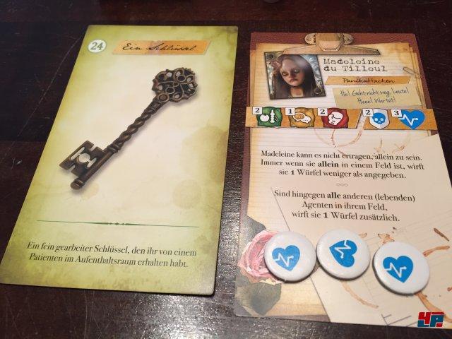 Wie in einem Rollenspiel hat man Lebenspunkte, Fähigkeiten und sammelt Gegenstände.