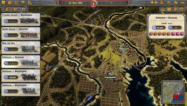 Screenshot - Railway Empire (Linux) 92555404