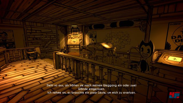 Screenshot - Bendy And The Ink Machine (PS4) 92578654