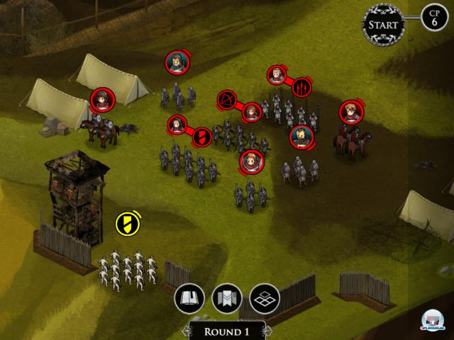 Screenshot - Ravenmark - Scourge of Estellion (iPad)