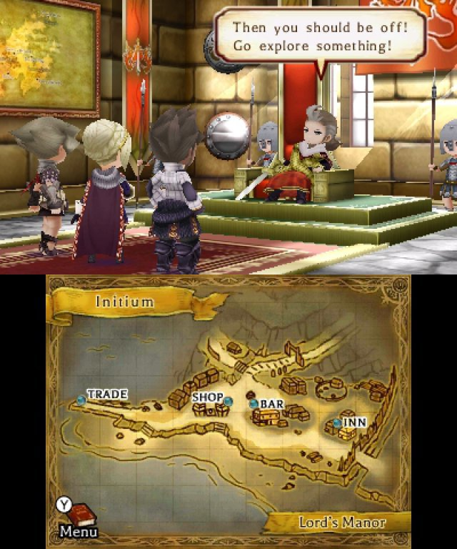 Screenshot - The Legend of Legacy (3DS)