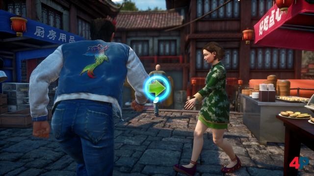 Und Action: Die serientypischen Quick-Time-Events gibt es auch in Shenmue 3 - überstrapaziert werden sie jedoch nicht.
