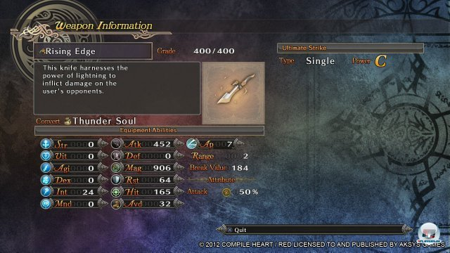 Screenshot - Agarest: Generations of War 2 (PlayStation3) 92403117