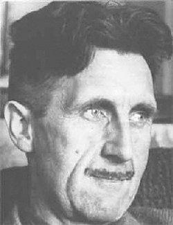 Was hat eigentlich der wohlbehaarte Schriftsteller George Orwell...