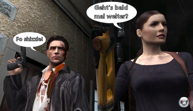 <b>Max Payne 3</b><br><br>Remedy hat mit Max Payne nix mehr am Hut, das wissen wir - der Finnen neuer Liebling heißt bekanntermaßen Alan Wake. Und offiziell wurde Max Payne 3 bis heute auch nicht angekündigt. ABER: Der Markenname wird von Take 2 immer wieder in Quartalsreports ans Tageslicht gekramt, was ein gutes Zeichen dafür ist, dass man die Serie am Leben erhalten möchte. Oder simpler gedacht: Am Ende von Max Payne 2 hieß es »Max Payne's journey through the night will continue« - und das <i>muss</i> ja was bedeuten! 1812623