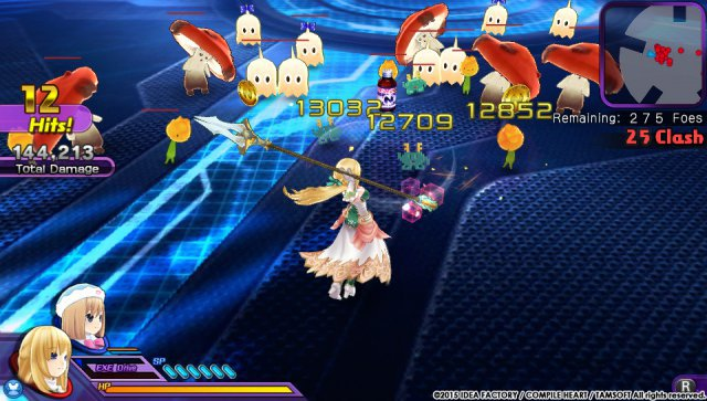 Screenshot - Hyperdimension Neptunia U: Action Unleashed (PS_Vita)