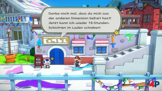 Screenshot - Paper Mario: The Origami King (Switch) 92619565