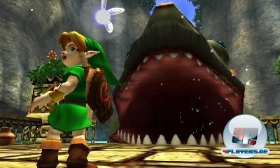 Kleiner Link, großes Monster!