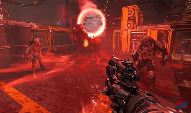 Ballern bis der Arzt kommt statt atemloser Spannung: Doom ist mehr Quake als id lieb sein kann.