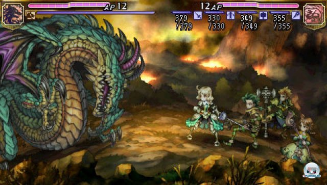 Screenshot - Grand Knights History (PSP)