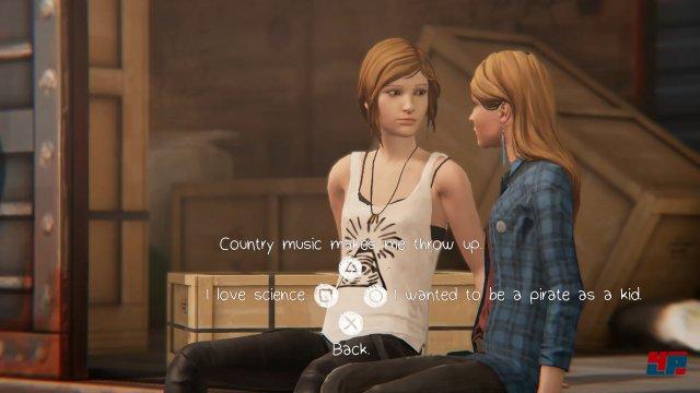 In der ersten Episode freunden sich Chloe und Rachel an und die Chemie passt perfekt.
