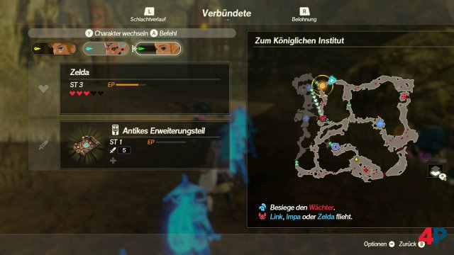 Screenshot - Hyrule Warriors: Zeit der Verheerung (Switch) 92629177
