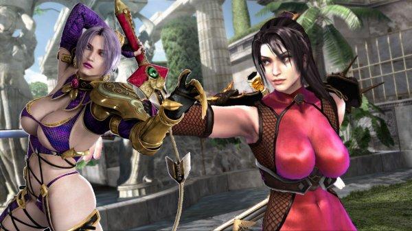 Ivy<br><br>Isabelle »Ivy« Valentine nutzt als Waffe das Snake Sword - das ist ausnehmend cool, sieht man dieses elegante Tötungswerkzeug aus der chinesischen Kampfkunst doch weder in Film noch Spiel sehr häufig in Aktion. Aber offensichtlich hat sie das Schwert nicht besonders gut im Griff, oder der Unterhalt kostet so viel, dass kein Geld mehr für Klamotten bleibt - jedenfalls trägt sie von Spiel zu Spiel weniger, so dass man sich spätestens bei den Trailern zum vierten Teil fragt, wie viel Blei sie auf dem Rücken trägt, um das Vordergewicht auszugleichen. Oder vielleicht ist das so eine Yin-Yang-Sache mit Ninja-Kollegin Taki, die ist nämlich ähnlich frontlastig. 1719471