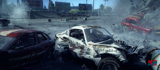 Next Car Game<br><br>Mit der Wirklichkeit nicht ganz so genau nimmt es Bugbear (FlatOut, Ridge Racer Unbounded): Die Finnen kennen