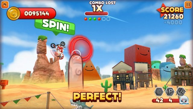 Screenshot - Joe Danger Touch (iPhone) 92439417