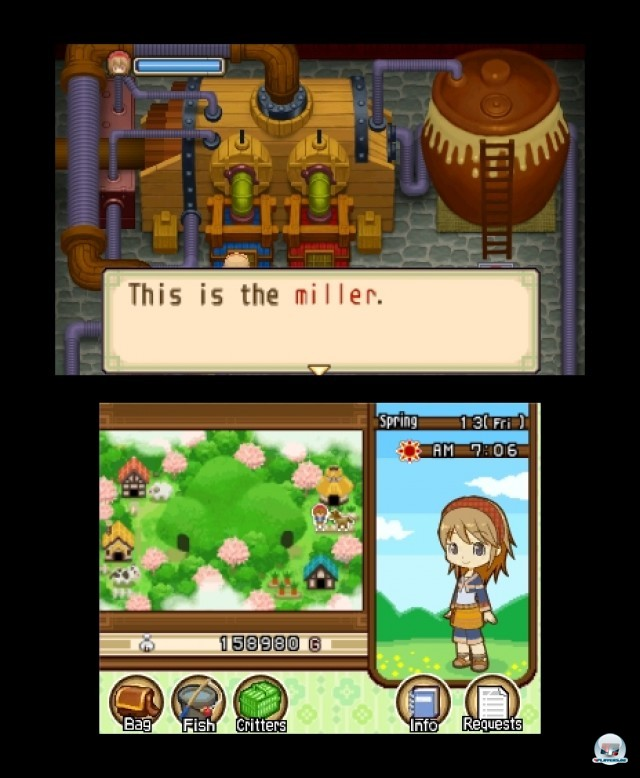 Screenshot - Harvest Moon: The Tale of Two Towns (3DS) 2232303