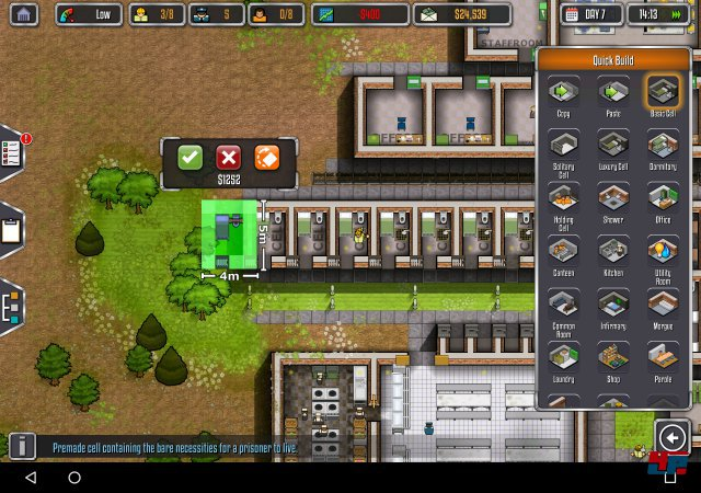 Screenshot - Prison Architect (Android) 92545973