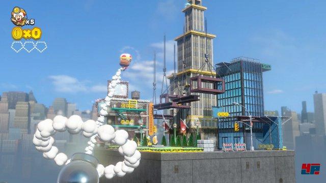 Auf in die Stadt aus Super Mario Odyssey!
