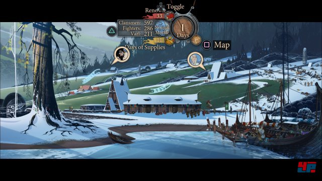 Screenshot - The Banner Saga 2 (PS4)