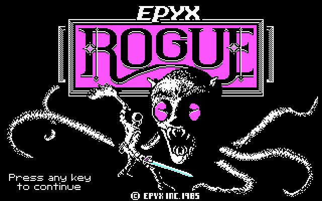Rogue: The Adventure Game von 1984 ist mittlerweile auf vielen Systemen erhältlich - auch Android.