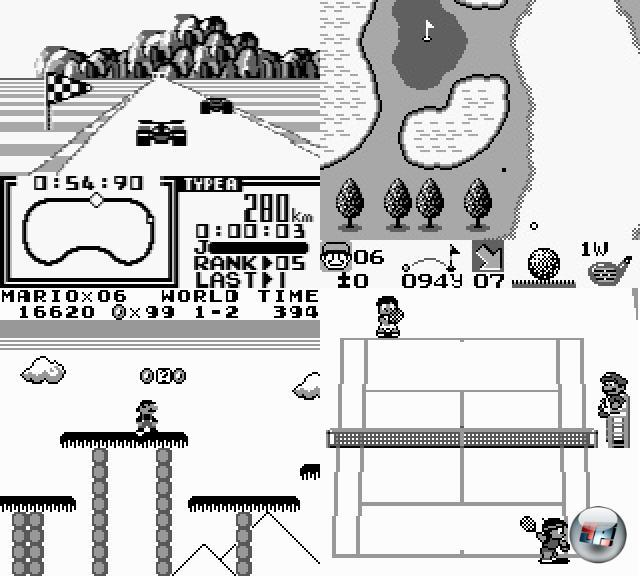 »Simpel muss es sein, damit möglichst viele Leute damit ihren Spaß haben.« - dieses Credo zieht sich durch die gesamte Videospiel-Geschichte von Nintendo, und ist heute mit DS und Wii aktueller denn je. So verwundert es nicht, dass die erfolgreichsten Game Boy-Spiele einfach gestrickt waren: Super Mario Land (in dem zur Abwechslung mal nicht Peach, sondern Daisy gerettet werden musste), Golf, Tennis (mit Mario als Schiedsrichter) oder F1 Race (inkl. Vier-Spieler-Adapter) sorgten für in regelmäßigen Abständen erfolgende Batterie-Neukäufe. 1941658