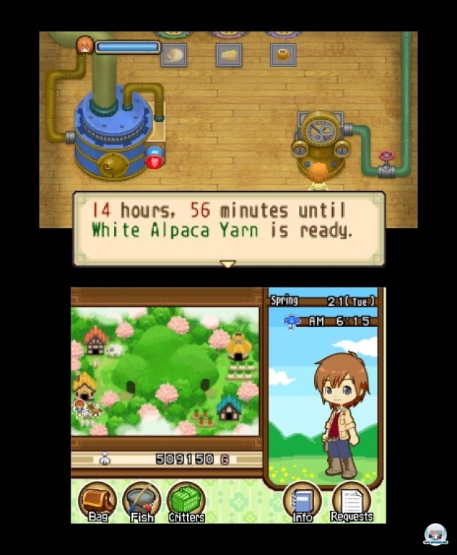 Screenshot - Harvest Moon: The Tale of Two Towns (3DS) 2232293