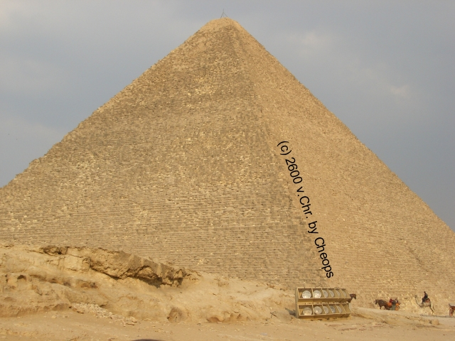 Der Kopierschutz an sich ist weitaus älter als das durchschnittliche Computerspiel. Genauer gesagt haben Ausgrabungen in Ägypten hervorgebracht, dass schon alte Pharaonen ein überaus wachsames Auge auf ihre Pyramiden-Designs hatten. Um unrechtmäßige Kopien ihres rechtmäßigen Eigentums zu verhindern, wurden alle am Bau des Grabmals beteiligten Arbeiter kurzerhand mit eingemauert. 1970853