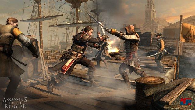 Das Entern feindlicher Schiffe könnte aufregend sein - die Kämpfe funktionieren technisch allerdings nicht so wie sie sollen.