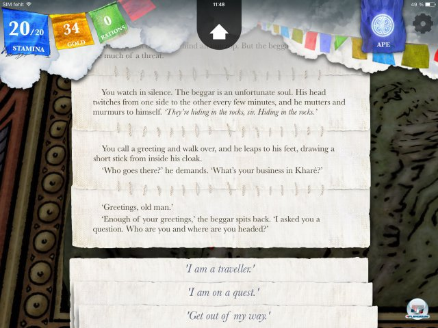 Screenshot - Sorcery! - Teil 2 (iPad) 92471929
