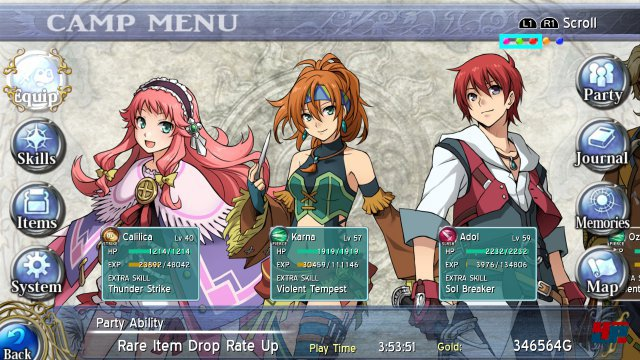 Screenshot - Ys: Memories of Celceta (PC)