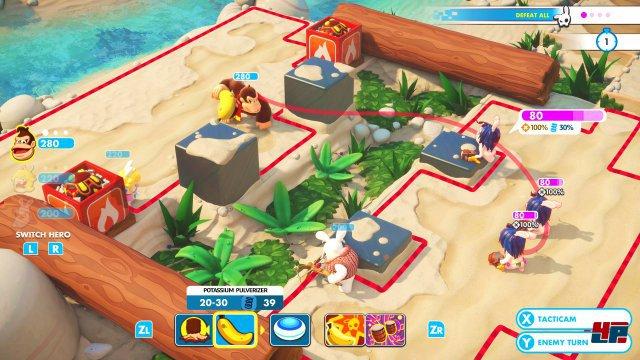 Screenshot - Mario   Rabbids Kingdom Battle - Donkey Kong Adventure (Switch) 92569347