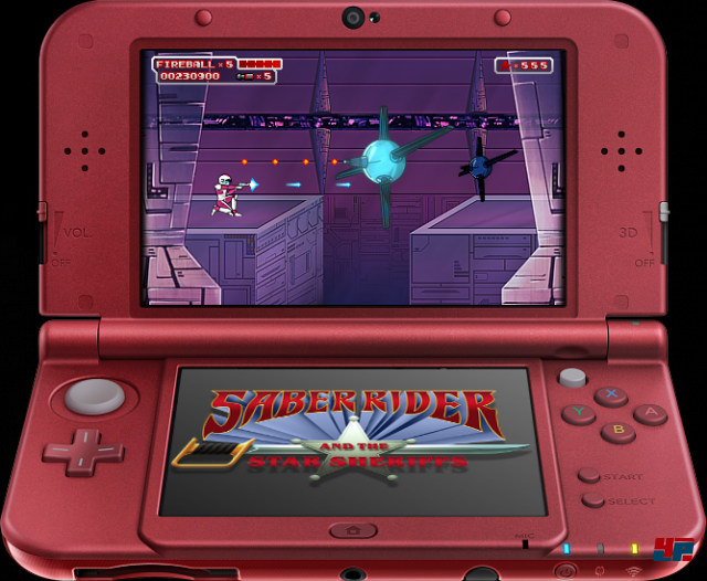 Screenshot - Saber Rider and the Star Sheriffs: The Video Game (N3DS) 92512893
