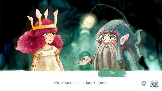 Die übergroße Krone, die altmodischen Reime, die lieblichen Melodien – Ubisoft will ein modernes Märchen inszenieren.