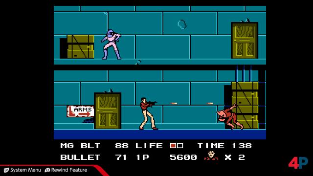 Namcos Rolling Thunder kennt ihr nicht? Ändert das! Auch die NES-Version überzeugt spielerisch.