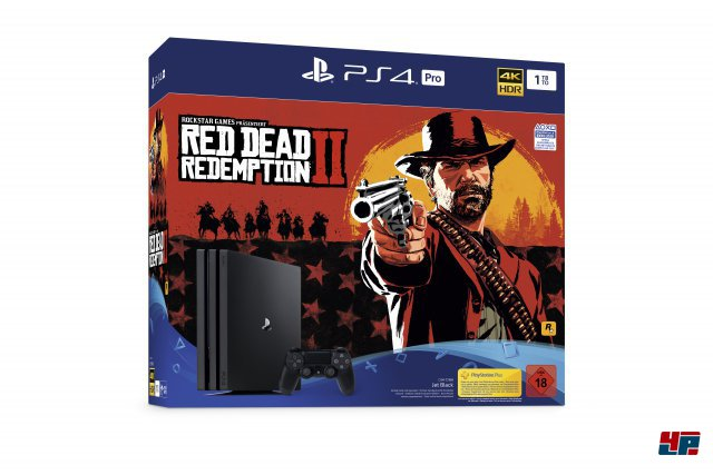 PS4-Pro-Bundle mit Red Dead Redemption 2