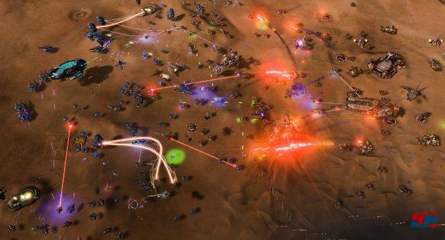 Große Schlachten sind die Stärke von Ashes of the Singularity: Escalation.