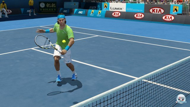 Grand Slam Tennis 2 ist Nadals Spiel: Hin- und Herlaufen stellt es am besten dar.