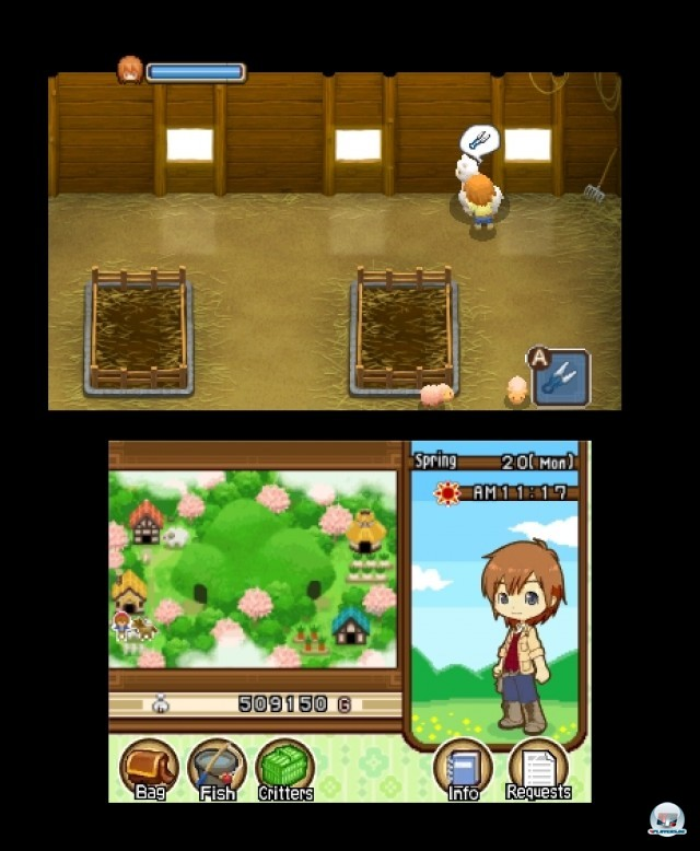 Screenshot - Harvest Moon: The Tale of Two Towns (3DS) 2232274