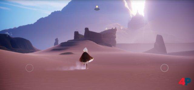 Sky: Kinder des Lichts versucht nicht, sein Journey-Erbe zu verbergen - die optische Ähnlichkeit wäre auch zu groß dafür.