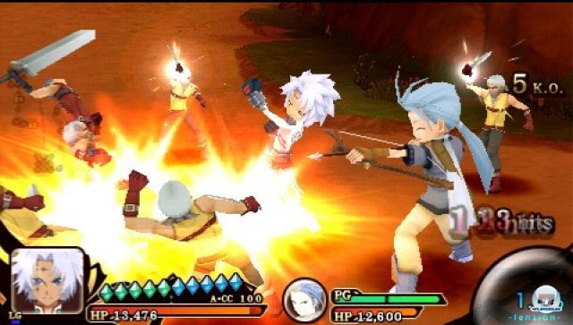 Screenshot - Tales of the Heroes: Twin Brave (PSP) 2315137