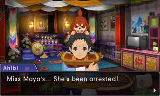 Screenshot - Phoenix Wright: Ace Attorney - Spirit of Justice (3DS) 92533094