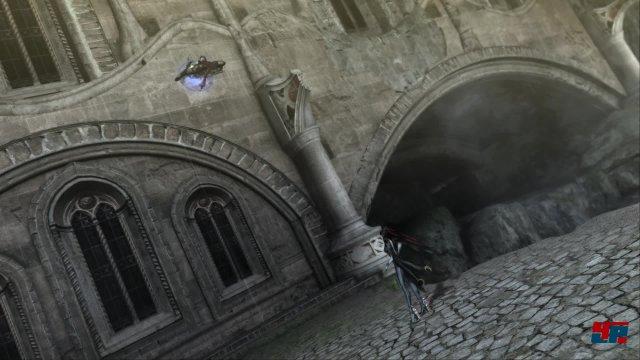 Gesetze der Schwerkraft oder Logik spielen hier keine Rolle - auch das macht den Reiz von Bayonetta aus.