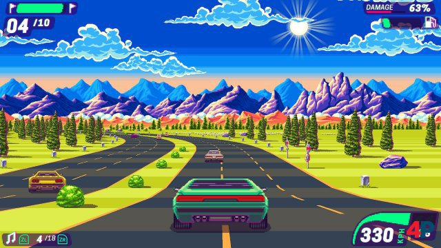 Screenshot - 80's Overdrive (Switch)