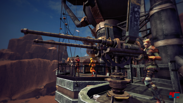 Screenshot - Guns of Icarus Alliance (Linux)