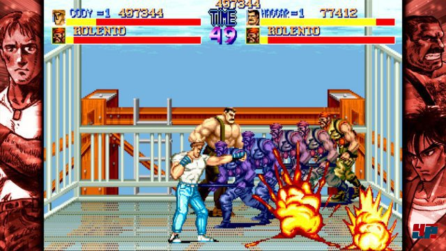 Final Fight war Capcoms Antwort auf Double Dragon.